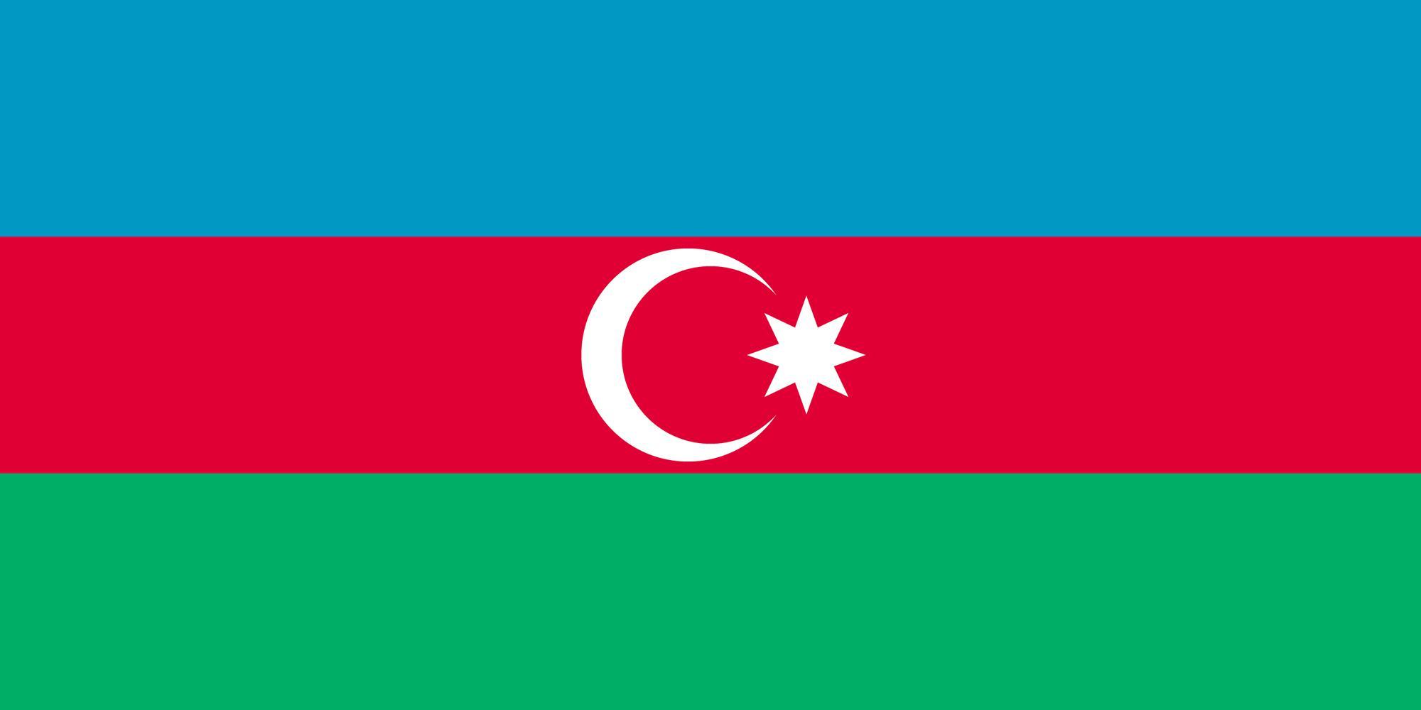 پرچم کشور آذربایجان