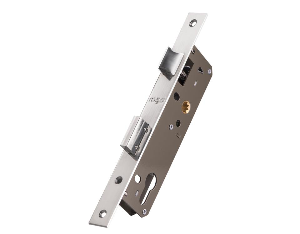 قفل درب آلومینیومی راگا مدل 4.5 روزت خور